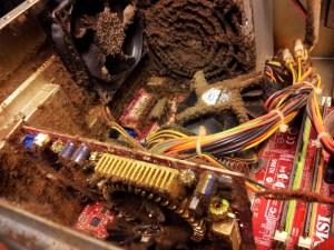 Dust In PC Case