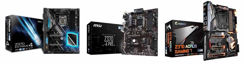 Best Z370 Motherboards for Intel Coffee Lake
