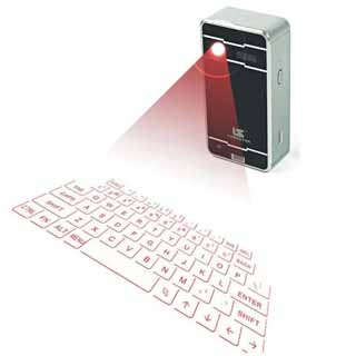 holographic laser keyboard